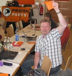 Nürnberger Land Piraten am Parteitag