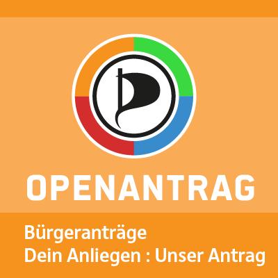 Open Antrag